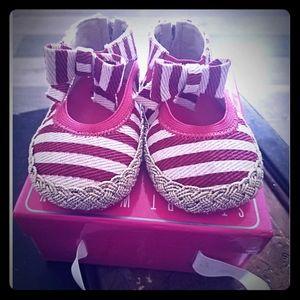 Never before worn Stewart Weitzman baby shoes